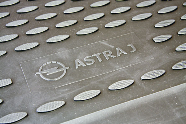 Комплект ковриков в салон Astra J