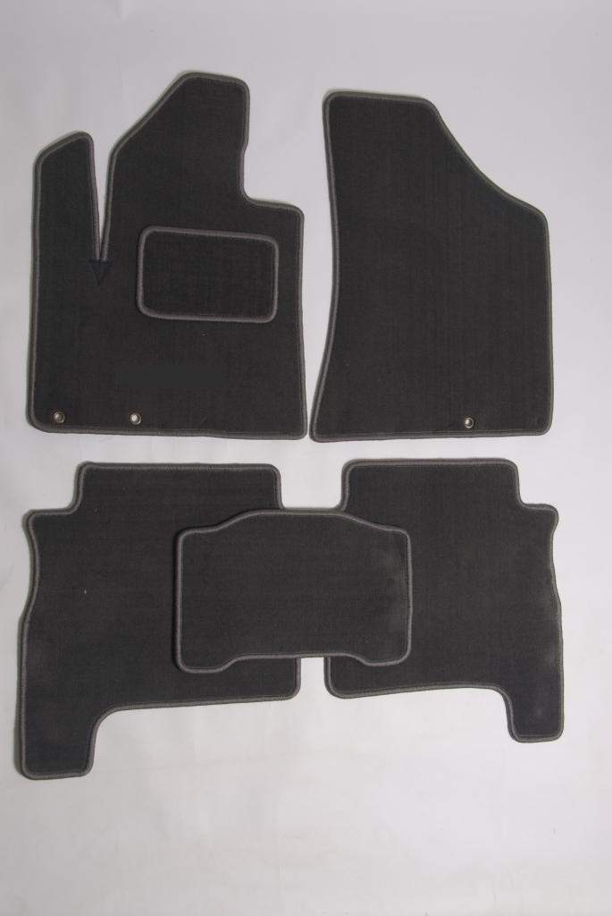 Коврики в салон OPEL Astra J 2010 NEW (чёрные,текстиль)