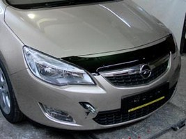 Дефлектор капота Opel astra J 2010-->