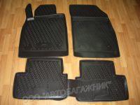 Комплект ковриков в салон NovLine  (полиуретан) Astra H/J (2010)