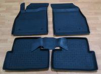 Автомобильные коврики резиновые с бортиком Seintex OPEL ASTRA J 2010-
